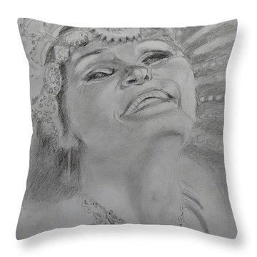Carnival Joy Throw Pillow
