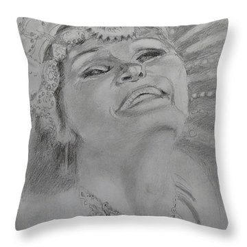 Carnival Joy Throw Pillow