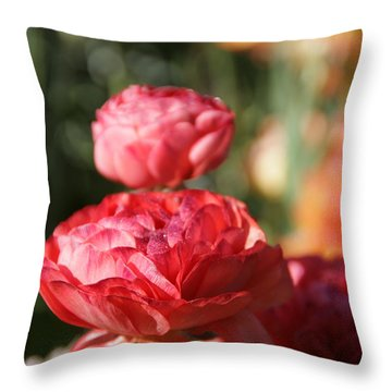 Carnival Of Flowers 01 Throw Pillow