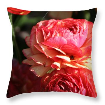 Carnival Of Flowers 02 Throw Pillow