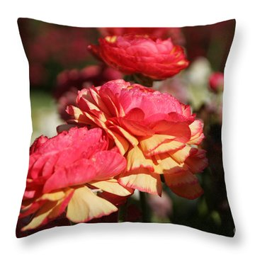 Carnival Of Flowers 03 Throw Pillow