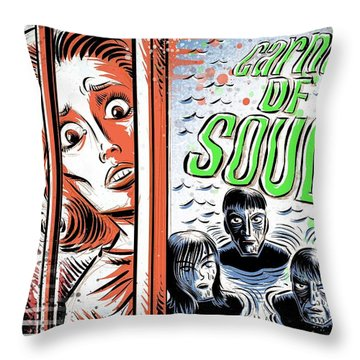 Carnival Of Souls Throw Pillow