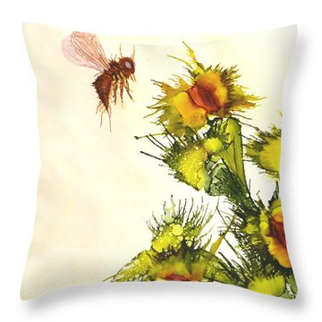 Carnivorous Throw Pillow