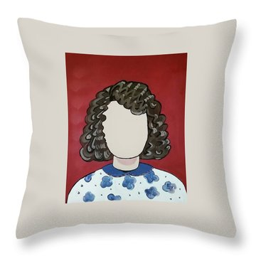 Carol Throw Pillow