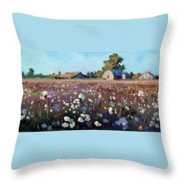 Carolina Cotton I Throw Pillow