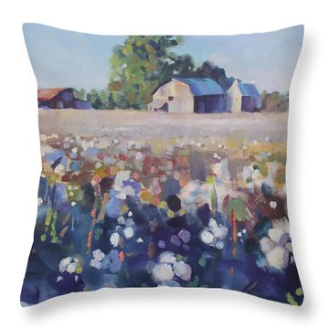 Carolina Cotton II Throw Pillow
