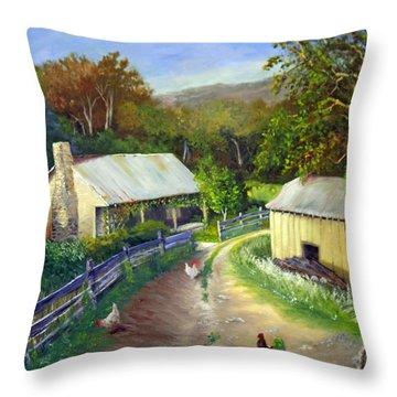 Carolina Homestead Throw Pillow