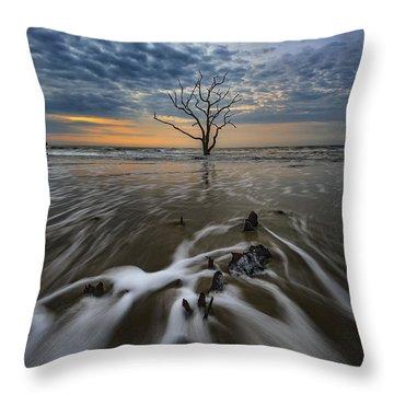 Carolina Lowcountry Throw Pillow by Rick Berk