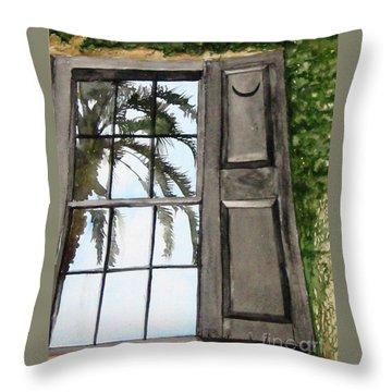 Carolina Reflections Throw Pillow by Carla Dabney
