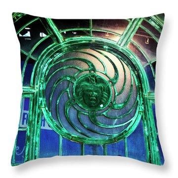 Carousel House Asbury Park Nj Throw Pillow