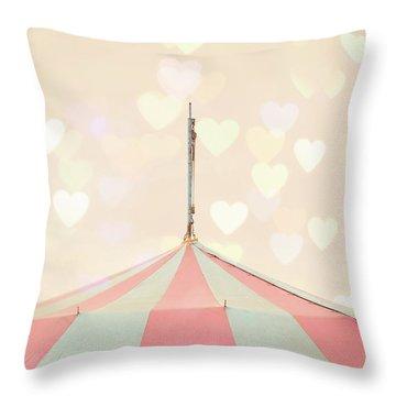 Carousel Tent Throw Pillow