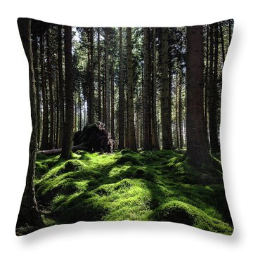 Carpet Of Verdacy Throw Pillow