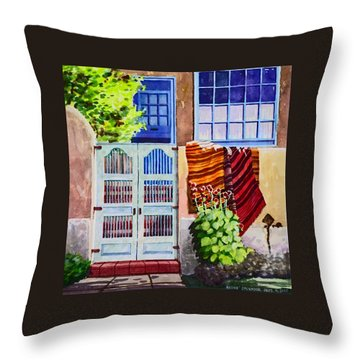 Carpets By The Gate Throw Pillow