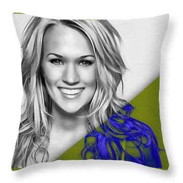 Carrie Underwood Collection Throw Pillow