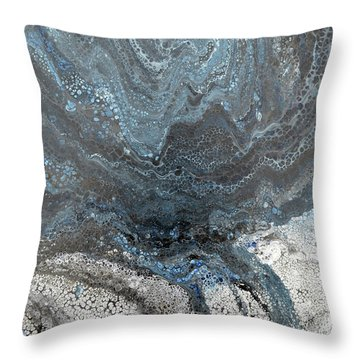 Carried Along Throw Pillow