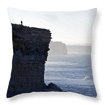 Carried Away By The Moment Throw Pillow by Holly Kempe