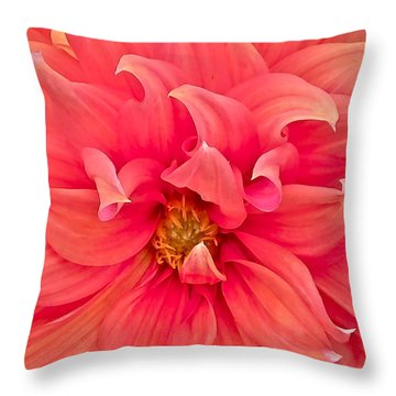 Carrie's Sister Throw Pillow by Gwyn Newcombe