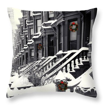 Carroll Street Throw Pillow