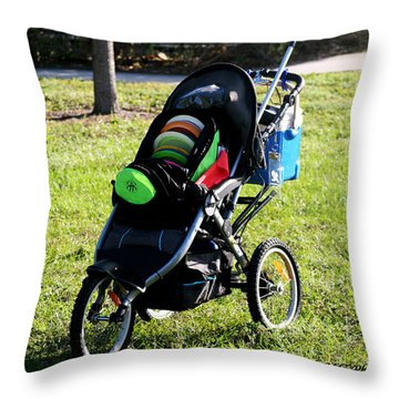 Cart Throw Pillow