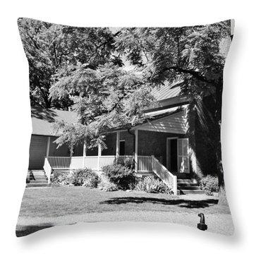 Carter Estate In Franklin Throw Pillow