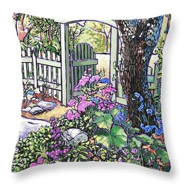 Carter Garden Throw Pillow
