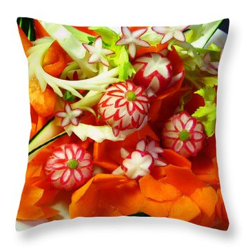 Carve A Crave  Throw Pillow