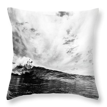 Carve Throw Pillow