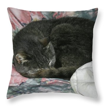 Cas-1 Throw Pillow