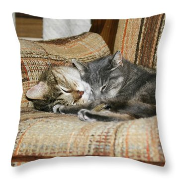 Cas-3 Throw Pillow