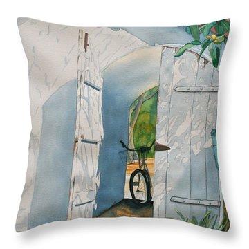 Casa De Teresita Throw Pillow