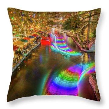 Casa Rio Rainbow Throw Pillow
