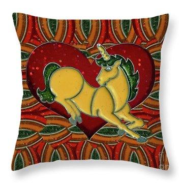 Casablanca Unicorn Dreams Throw Pillow