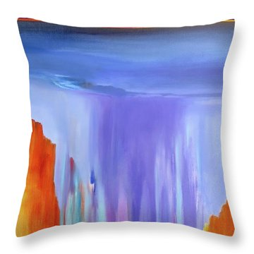 Casade Throw Pillow
