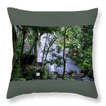 Cascada La Coca Throw Pillow