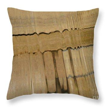 Cascade 1 Throw Pillow by Karen Sydney