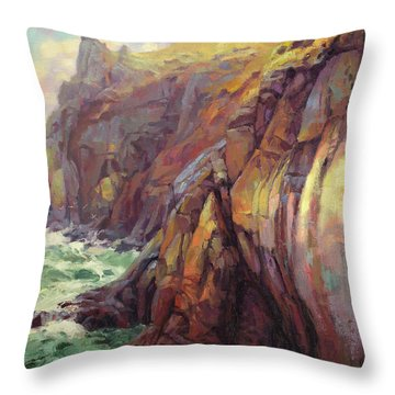Cascade Head Throw Pillow
