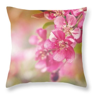 Cascade I Throw Pillow
