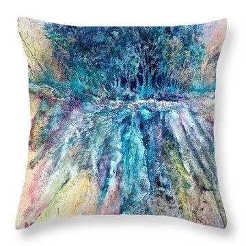 Cascade Ridge Throw Pillow