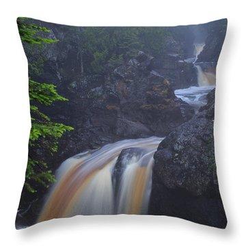 Cascade River Cascade Throw Pillow