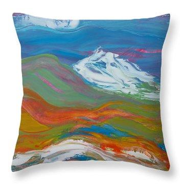 Cascadia 1 Throw Pillow