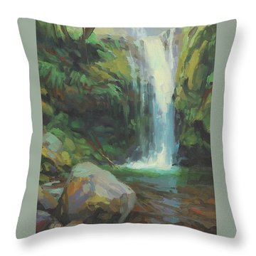 Cascadia Throw Pillow