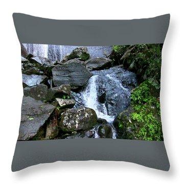 Cascadita De El Yunque Throw Pillow