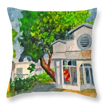 Caseys Place Throw Pillow
