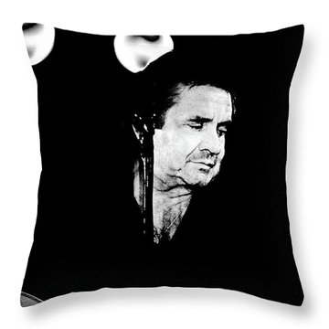 Throw Pillow featuring the photograph Cash by Paul W Faust - Impressions of Light