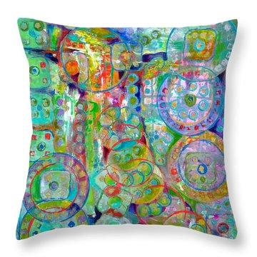 Casino Throw Pillow by Gretchen Ten Eyck Hunt