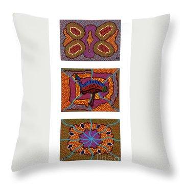 Cassowary - Food - Nest Throw Pillow