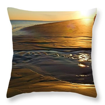 Cast A Long Shadow Throw Pillow