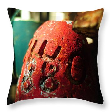 Cast Away Throw Pillow by Rebecca Sherman