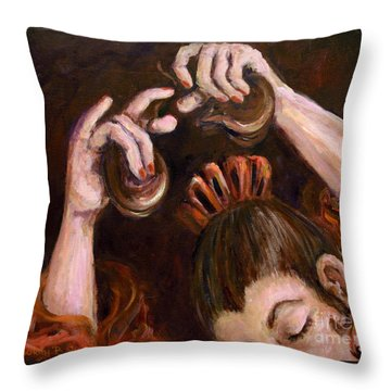 Castanets Throw Pillow