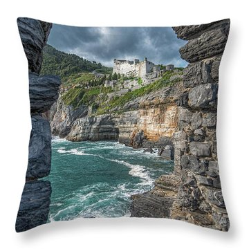Castello Doria Throw Pillow